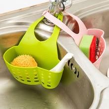 Kitchen Storage Baskets For Strainers Water Organization Dishwasher Soap Hanging Basket Shelf Gadgets