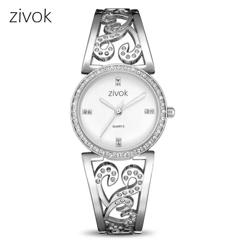 Creative zivok Women Bracelet Watch Fashion Brand Lovers Quartz Wrist Watches Women Clock Relogio Feminino xfcs Reloj Mujer zivok fashion brand women watches luxury red lovers bracelet wrist watch clock women relogio feminino ladies quartz wristwatch