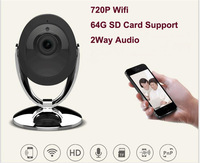 New IR Night Vision Infrared Smart Webcam WIFI IP Camera Security CCTV Mini Wireless IP Wi