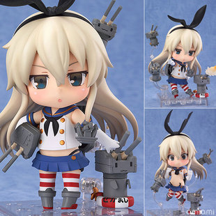 Kantai Collection Cosplay Shimakaze Q Version Boxed Clay GK Garage Kit Action Figures Toys Model круизер ridex 22x6 abec 7 chrome jungle