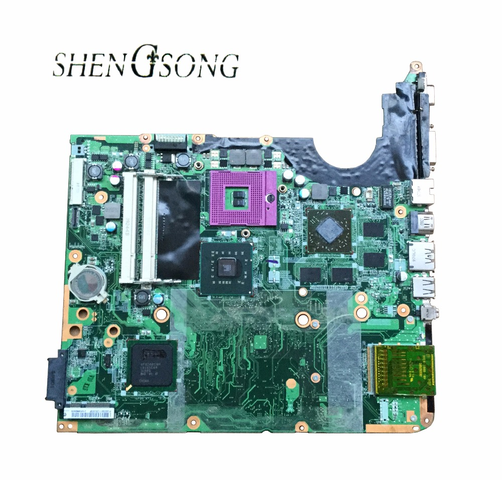 100% Working Laptop Motherboard for HP DV6 DV6-1000 518431-001 DAUT3DMB8D0 Series Mainboard,System Board Free Shipping for hp 6510b series laptop motherboard 446904 001 mainboard free shipping