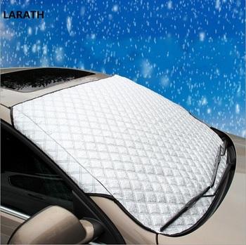 Pokrowce samochodowe wysokiej jakości osłona przeciwsłoneczna do samochodu Auto osłona przeciwsłoneczna na okno osłony przeciwsłoneczne odblaskowa osłona przedniej szyby do SUV i zwykłego samochodu tanie i dobre opinie Folie okienne i ochrona słoneczna Protecter Silver 92cm Aluminum film and cotton 142cm RUNDONG AUTO ACCESSORIES 40 -60