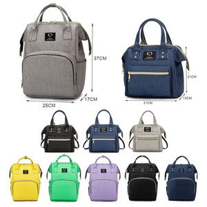 Image 5 - Bolsa de pañales para bebés, mochila para madres, bolsas de pañales, maternidad, lactancia, gran capacidad, impermeable, bolso de viaje para cochecito