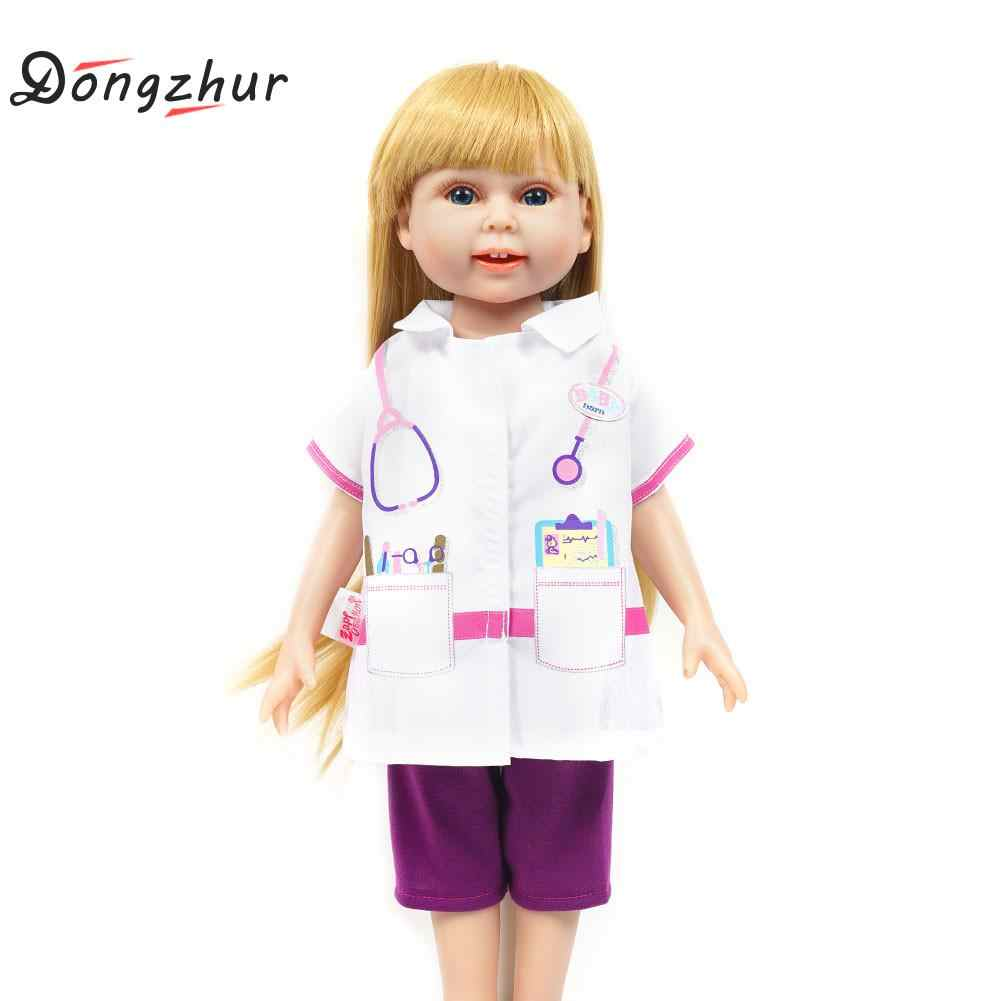 Dongzhur медицинская униформа для доктора пальто и брюки набор куклы милые куклы моя жизнь Одежда для кукол костюм подарок аксессуары для кукол