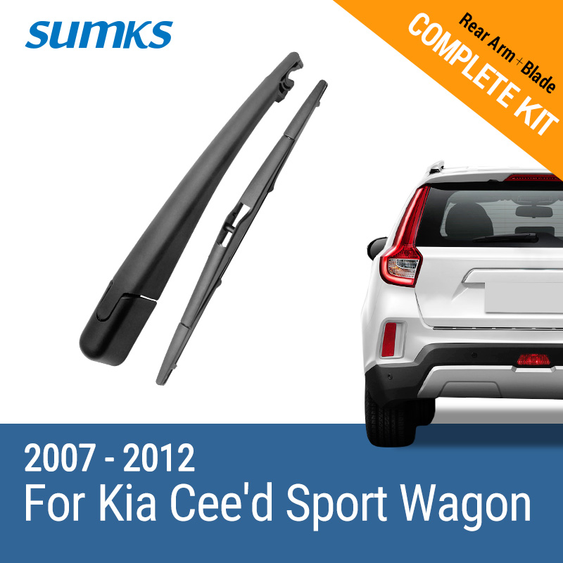 Sumks заднего стекла и руки для KIA ceed sport wagon 2007 2008 2009 2010 2011 2012