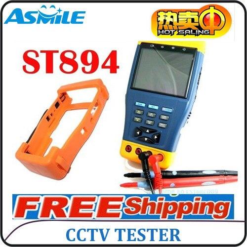 ST894 12V/1A power output cctv multimeter tester