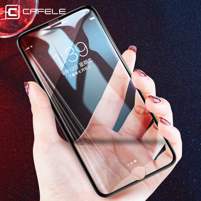 CAFELE Tempered Glass For iphone 6 6s 7 8 plus 3D edge full cover Screen Protector For iphone 7 8 Seamless covering Anti Glare