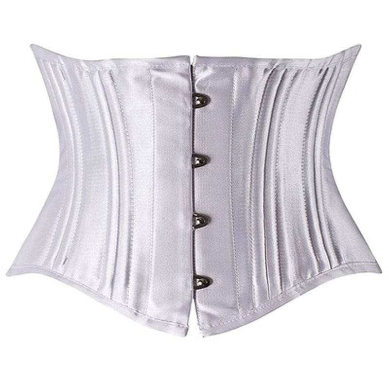 c778f21aa1 Sexy Steampunk 26 Steel Boned Under Bust Corset Waist Cincher Weight Loss  Shapewear Clubwear Plus Size Queening Costume-in Bustiers   Corsets from  Underwear ...