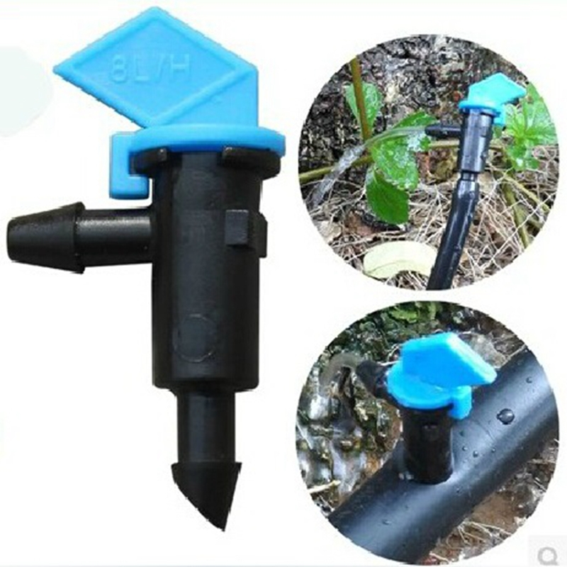 20 pcs High Quality 8L Detachable Irrigation Water Dropper Gardening Greenhouse Drip Irrigation Parts Water Removable