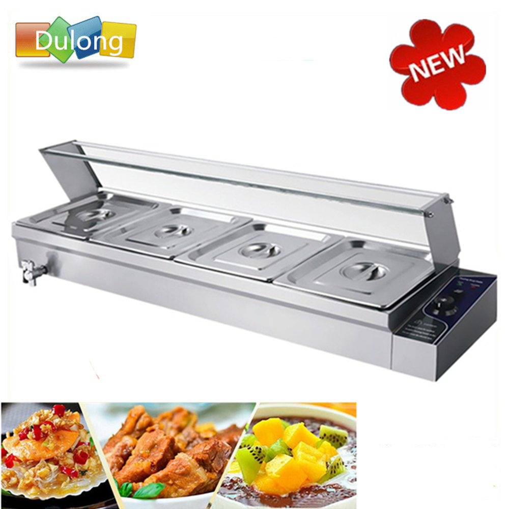 Restaurant Hotel bain marie food warmer commercial electric fast food warming container catering equipment