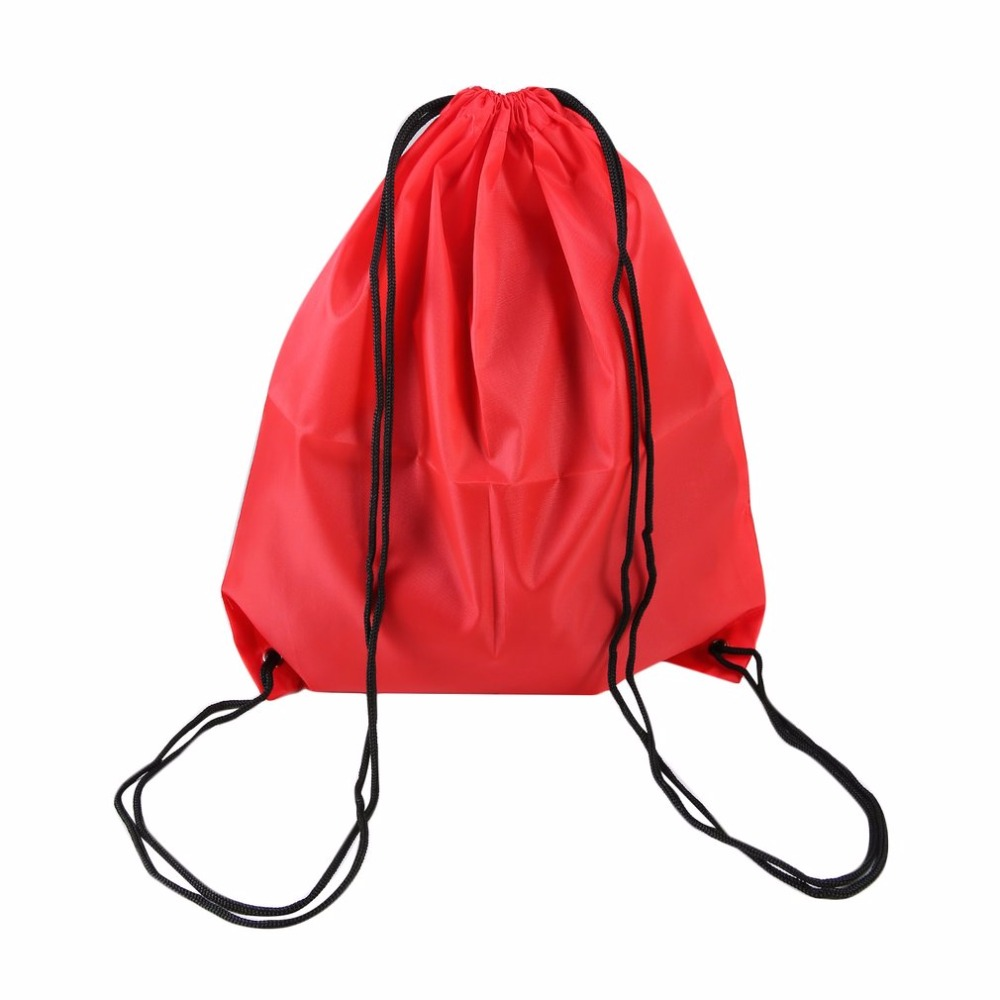 626f06d76c2ec 9 Renk Prim Okul İpli Spor Çantası Spor Salonu Yüzmek Dans Ayakkabı Çanta  Su Geçirmez Sırt Çantası Seyahat Dize Çanta taşıma kolları2.14 / adet / lot  1