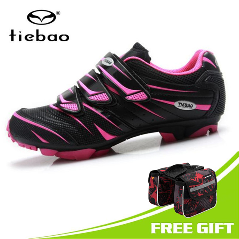 TIEBAO Professional Women 2018 MTB Cycling Shoes Wear-resistant Mountain Bike Shoes All Season Bicycle Shoes Zapatos de ciclismoTIEBAO Professional Women 2018 MTB Cycling Shoes Wear-resistant Mountain Bike Shoes All Season Bicycle Shoes Zapatos de ciclismo