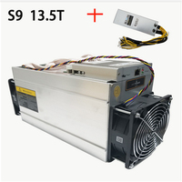In Stock New AntMiner S9 13 5T Bitcoin Miner ASIC BTC Bitmain Mining Machine With Power
