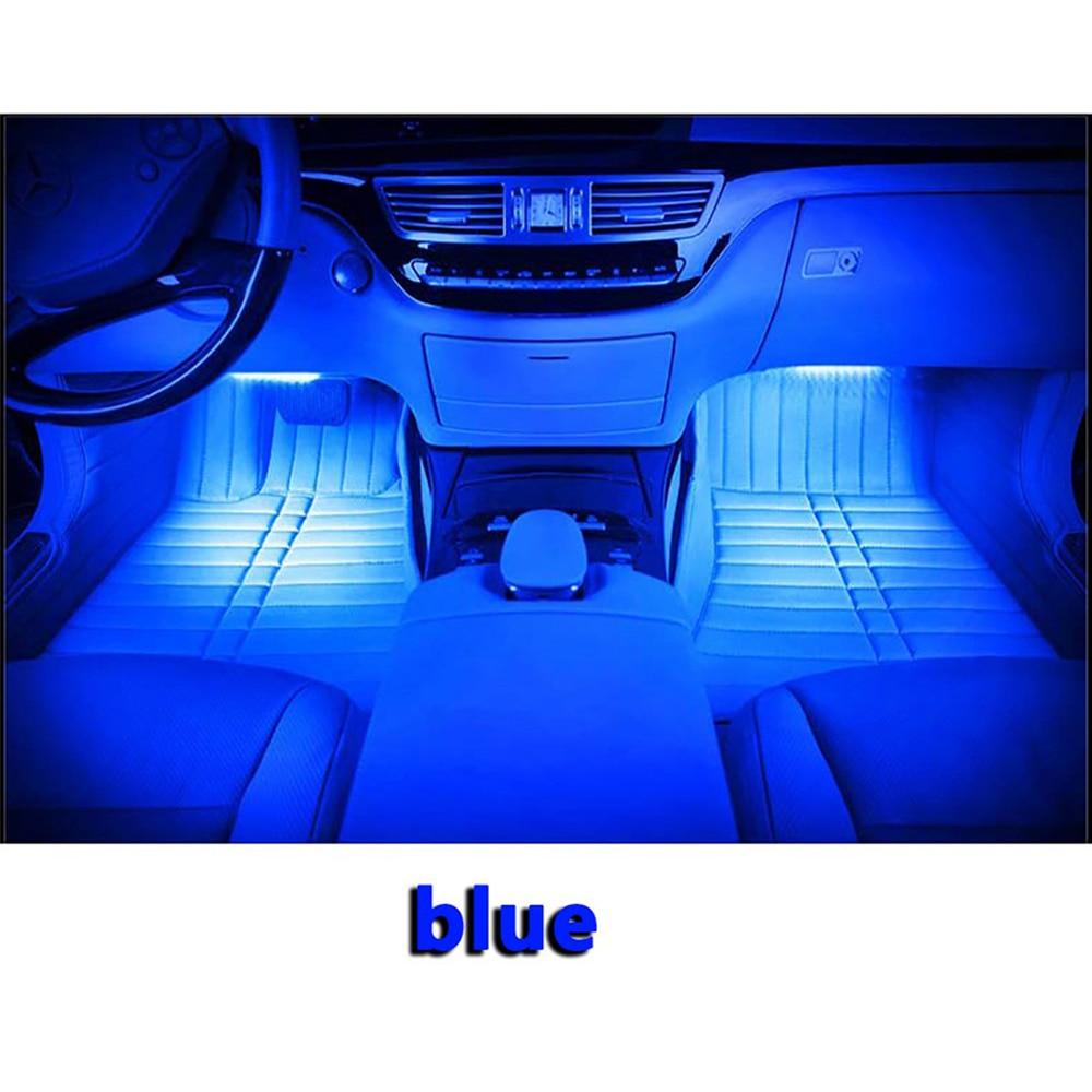 Car RGB svjetla LED traka 3M neonska svjetiljka Dekorativna svjetla - Svjetla automobila - Foto 6