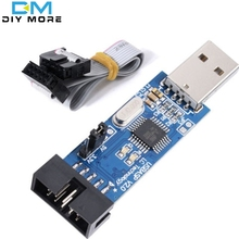 USBASP USBISP AVR Programmer 3.3V/5V USB ISP USB ASP ATMEGA8 ATMEGA128 ATtiny/CAN/PWM +10Pin Wire Support Win7 64Bit(China (Mainland))