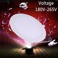 1pcs Ultra Thin Led Panel Downlight 110v 220v Recessed Led spot Lights 3w Lamp Led 3w 9w 15w 18w 24w Round Downlights SMD2835