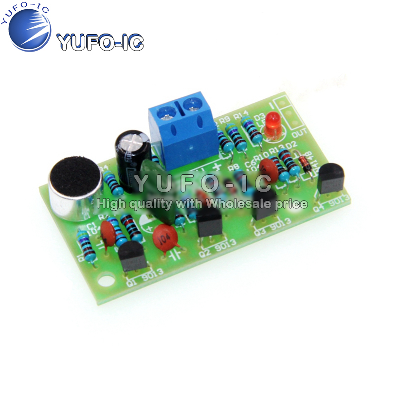 Voice-controlled clap switch kit bulk electronic DIY fun production kit Electronic Training Kit