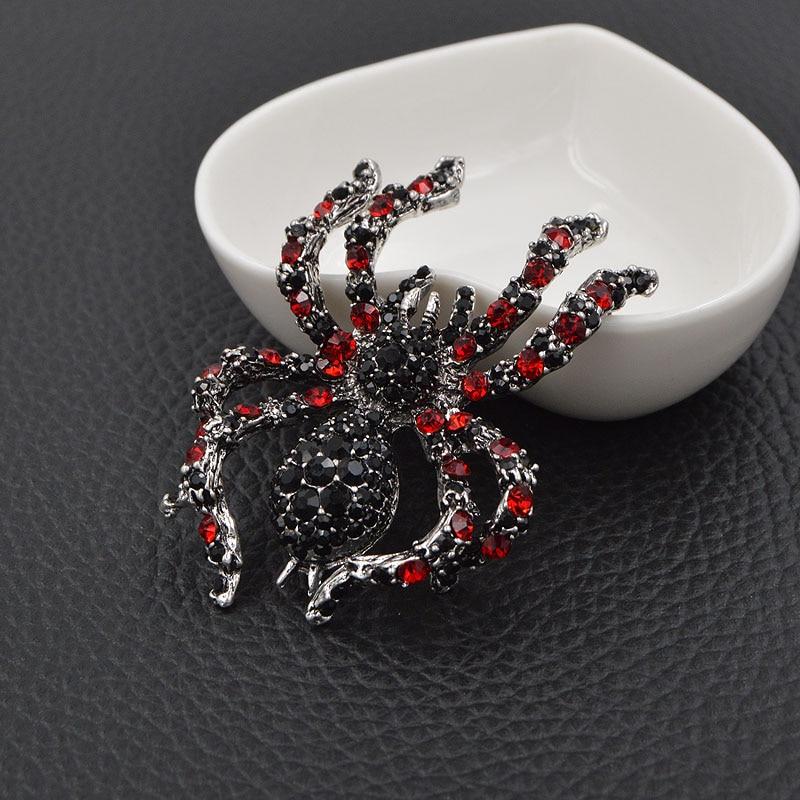 CINDY XIANG berlian buatan labah-labah labah-labah untuk penyataan - Perhiasan fesyen - Foto 4