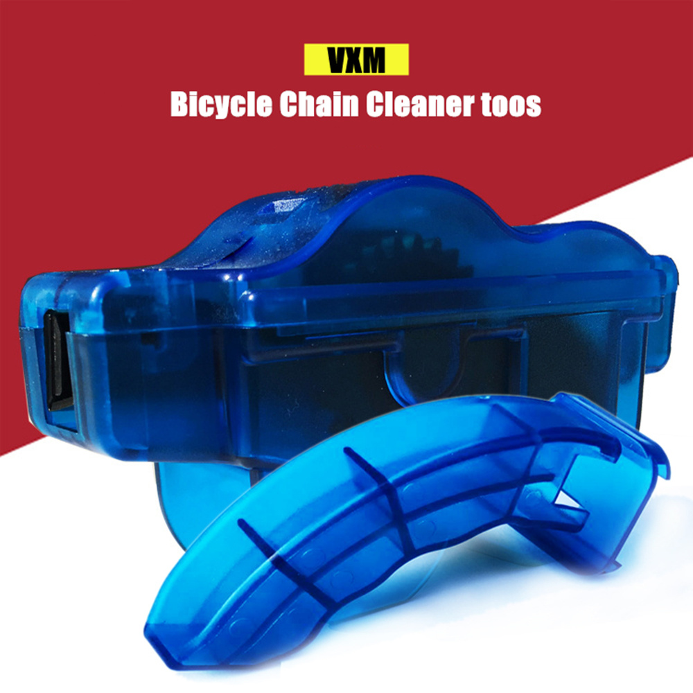 VXM Bicycle Chain Cleaner Cycling Bike Flywheel Brush Scrubber Wash Tool Kit Mountaineer Bicycle Chain Cleaner Kits Bcycle Parts цены онлайн