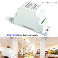LTECH DALI Bus Power supply(DIN Rail) DALI PS DIN 100 240VAC 50/60Hz input,15VDC 200MA output DALI Dimming Driver for LED Lights