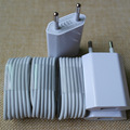 3 Set/lote UE/EE.UU. Plug Viaje USB Cargador de Pared + 1 m 8Pin Data Sync Cargador de Carga cable de alambre para iphone 6 6 s 5 5S se 5g 5c ios 10