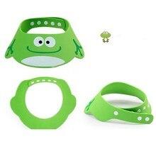 Baby Hat Toddler Kids Wash Hair Shield Direct Visor Caps Adjustable Shampoo Bathing Shower Cap For Children Baby Care