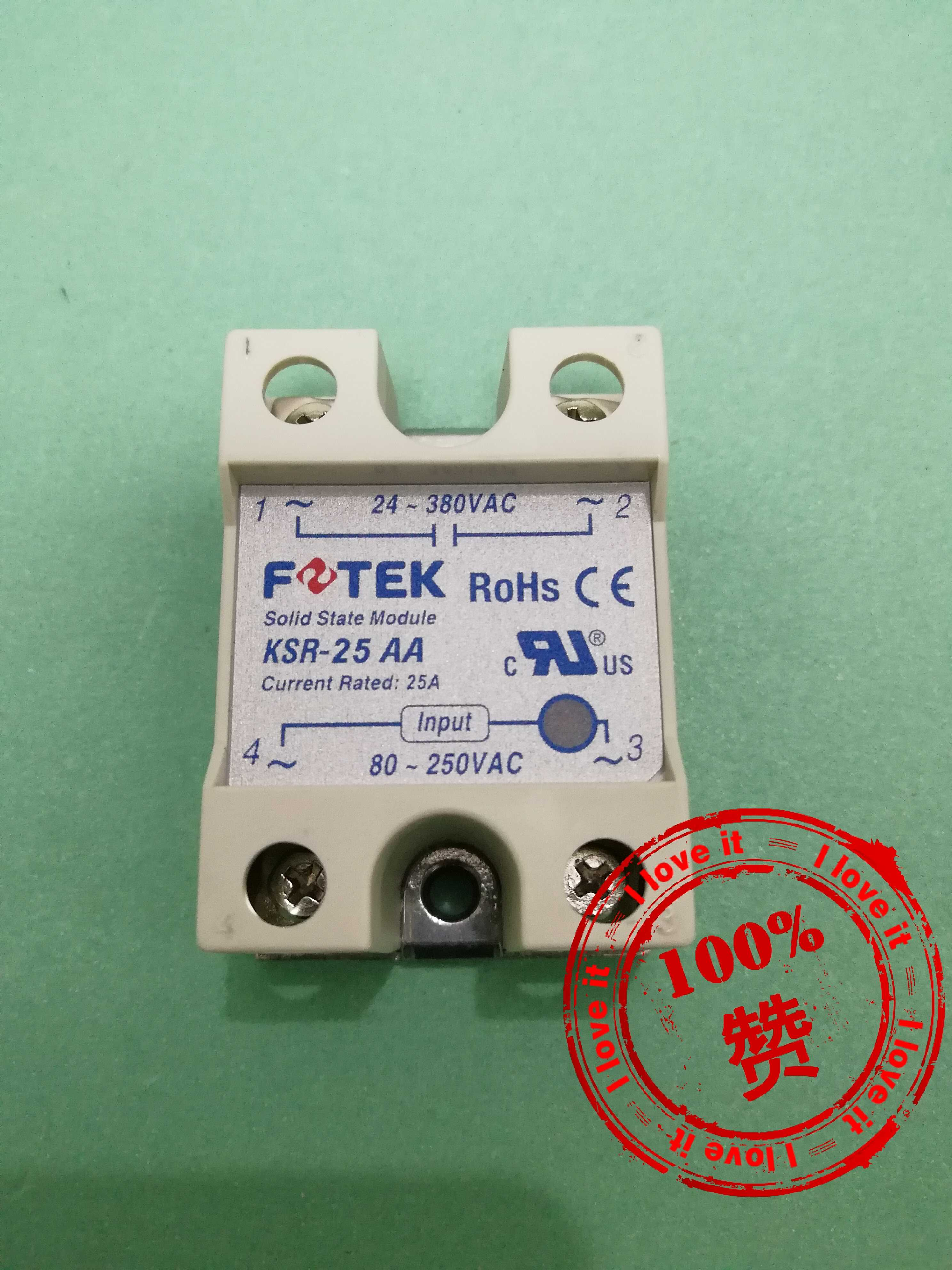 100% Original Solid State Relay KSR-25AA