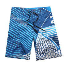 High Quality Mens Quick Dry Beach Shorts Surf Board Shorts Summer Sport Beach Homme Bermuda Short Pants Print Boardshorts Silver цена и фото