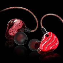 High-quality headphones in-ear subwoofer Earphones dual controller sports headphones with microphone for games mp3 Mobile phone