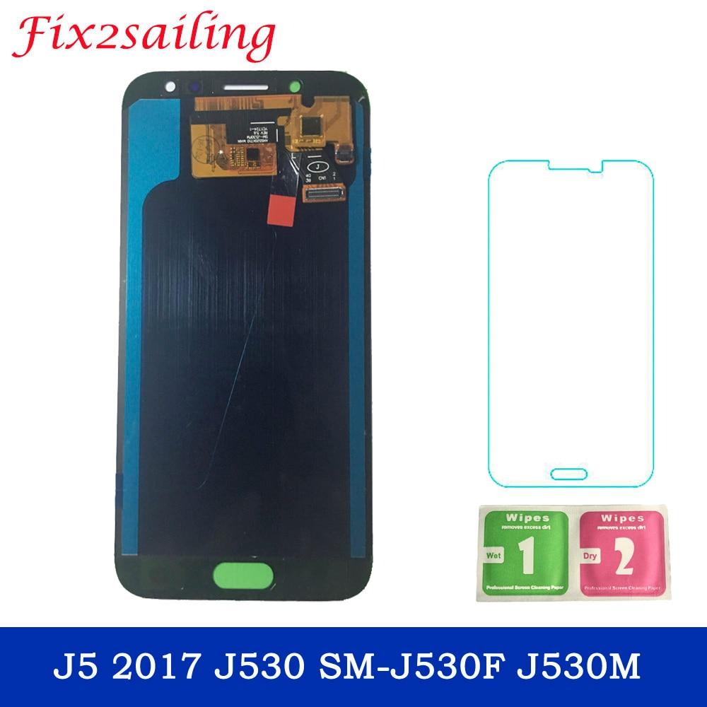 5.0 ''AMOLED LCD pour SAMSUNG Galaxy J5 2017 Affichage écran tactile Pour SAMSUNG Galaxy J5 2017 J530 SM-J530F J530M LCD