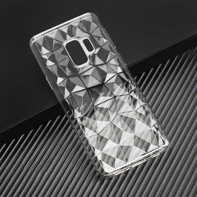 Phone Cover for Samsung Galaxy A20E A20 A6 A7 A8 M20 M10 J2 Core J4 J6 Plus 2018 J8 Soft Diamond Case S10 S10E S9 S8 Luxury Thin