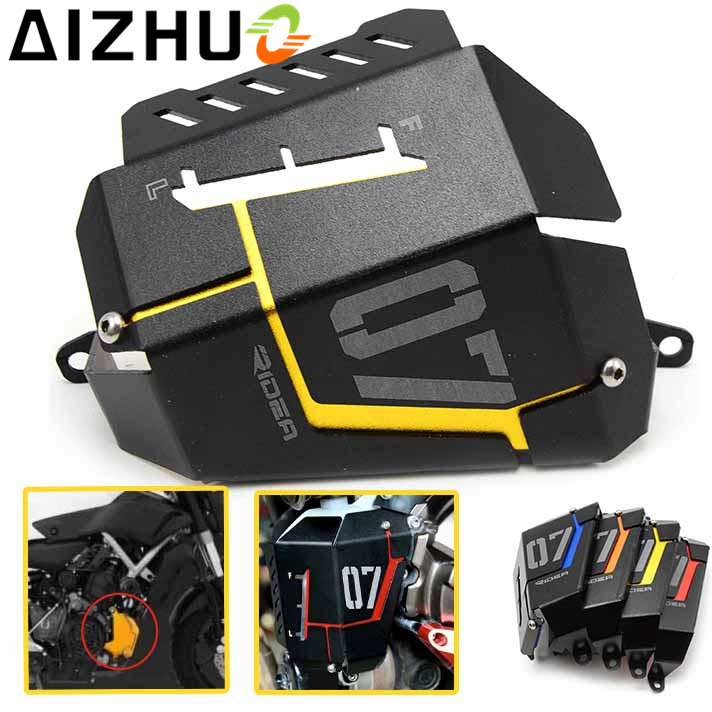 For Yamaha MT-07 FZ07 MT07 MT 07 FZ 07 Motorcycle Radiator Guard Cover Motor Aluminum Alloy Radiator Protector 4 Color epman 42mm 2 row aluminum radiator for nissan skyline r33 r34 gtr gtst rb25det mt ep r106rad