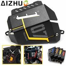 купить For Yamaha MT-07 FZ07 MT07 MT 07 FZ 07 Motorcycle Radiator Guard Cover Motor Aluminum Alloy Radiator Protector 4 Color дешево