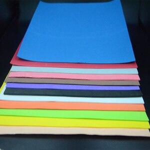 Image 2 - CONTEMPLATOR 12 farben 2mm dicke fliegen binden schwimm Schaum 4 blätter/pack EVA platz papier fliegen angeln materialien für gras trichter