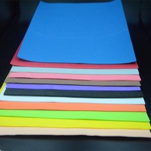 Image 2 - Visualizador de 12 colores, 2mm de grosor, atado de moscas, espuma flotante, 4 hojas/Paquete de papel cuadrado EVA, materiales de pesca con mosca para tolva de hierba
