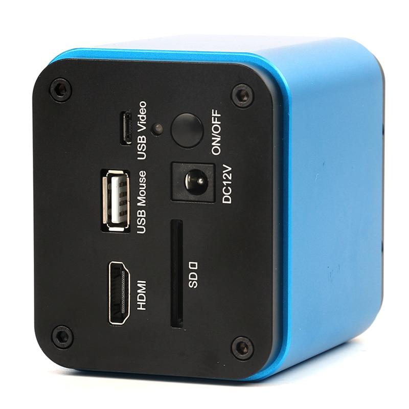 HDMI USB Vidéo Microscope Caméra SD Carte Vidéo Enregistreur SONY Capteur IMX185 IMX290 Pour Biologique Microscope Stéréo Microscope