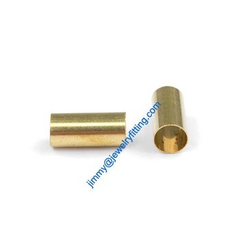 Brass Tube Conntctors Tubes jewelry findings 6*13mm ship free 4000pcs copper tube Spacer beads