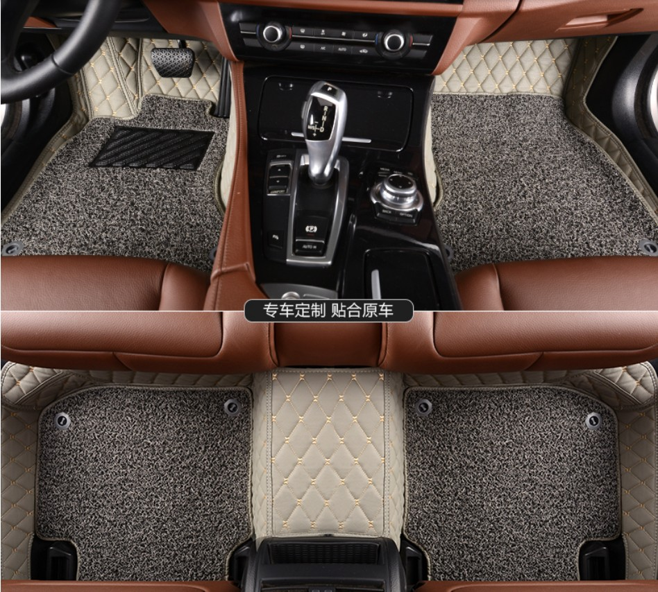 Floor mats jeep compass - For Jeep Compass 2011 2016 Car Floor Mats Foot Carpets Step Mat Cargo Liner High