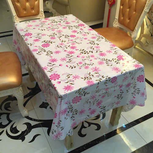 Ordinaire 2018 New Arrival Waterproof Pvc Table Cloth Table Liner Thin Table Runner  Floral Printing Tablecloth Rectangular