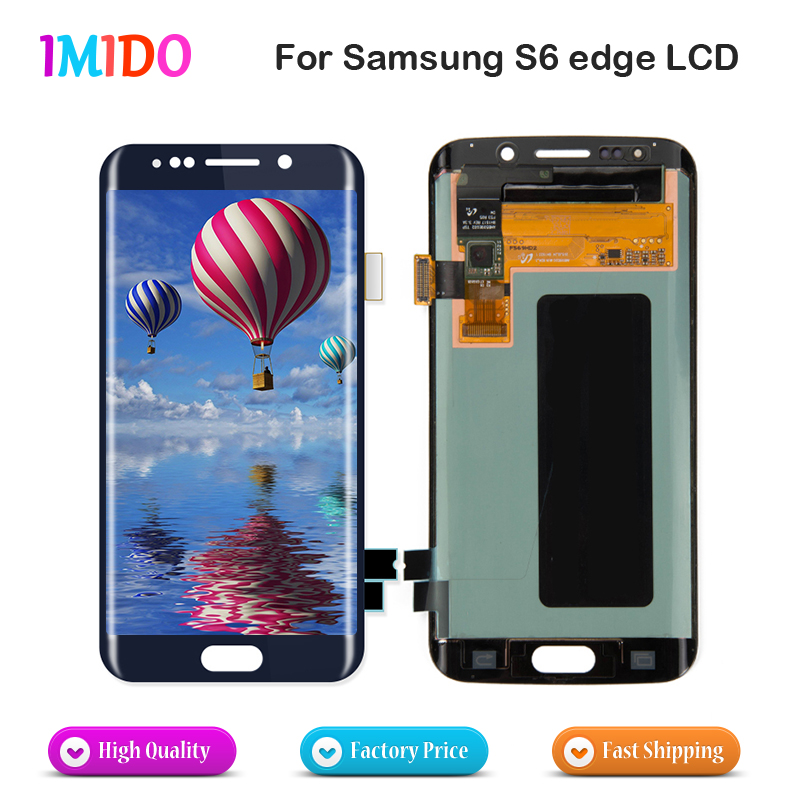 3Pcs Free DHL Shipping For Samsung Galaxy S6 Edge G925 G925F G925A LCD Display Touch Screen Digitizer Assembly Replacement3Pcs Free DHL Shipping For Samsung Galaxy S6 Edge G925 G925F G925A LCD Display Touch Screen Digitizer Assembly Replacement