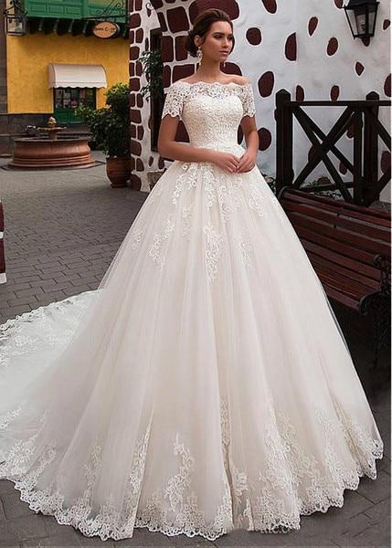 Wedding Dresses 2019 Princess A Line Off the Shoulder Formal Traditional Bridal Bride Gowns vestidos de novia robe mariage