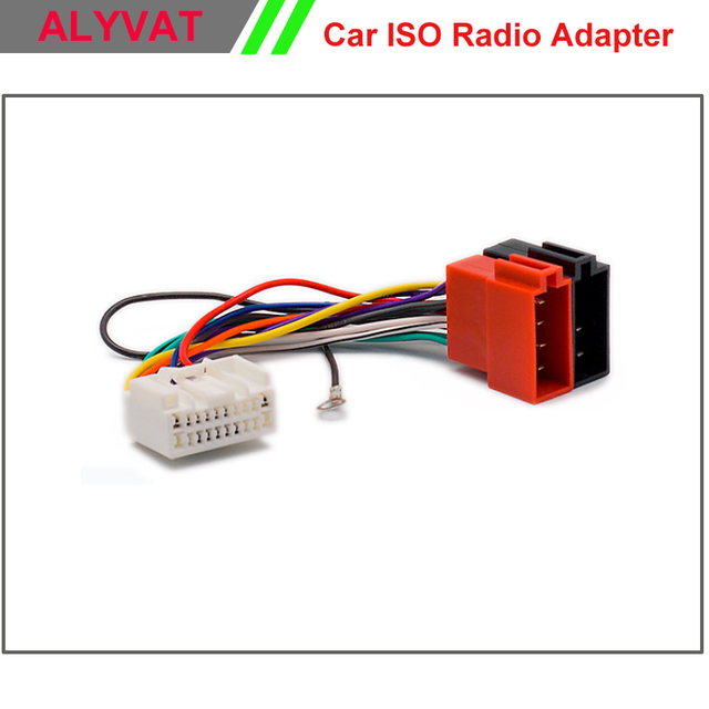 Car ISO Radio Adapter Connector For Mitsubishi 2007 onwards Wiring ...