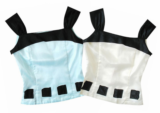 F51-420 2013 spring and summer fashion gloss 0.10kg small vest