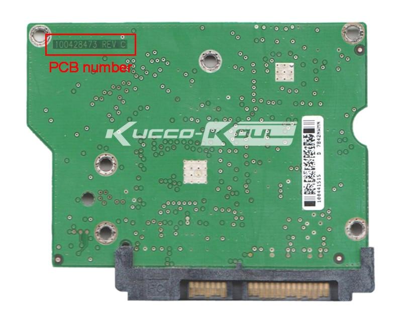 hard drive parts PCB logic board printed circuit board 100428473 for Seagate 3.5 SATA hdd data recovery hard drive repair