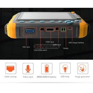 Image 4 - 5MP กล้องวงจรปิดความปลอดภัยกล้องวงจรปิด 5 นิ้ว TFT LCD Monitor สำหรับ 4 IN 1 TVI AHD CVI Analog Security CAM เครื่องทดสอบวิดีโอเสียง Test