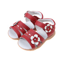 fashion flower kids shoes girls sandals new arrival children sandals girls princess sandals genuine leather kids shoes