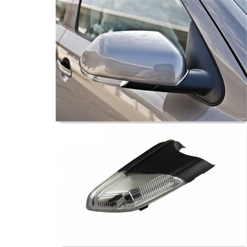 Left & Right Rearview Mirror Side Lamp Turn Signal Lights For Polo 2005-2010 Octavia OEM: 6QD 949 102 6QD 949 101 what she left