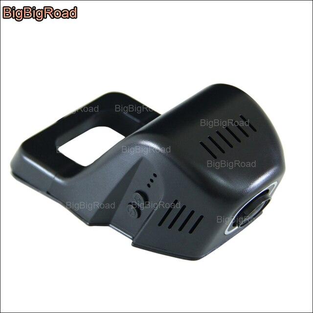 BigBigRoad-capteur g à vision nocturne | Pour jeep sahara voiture, wifi DVR conduite enregistreur vidéo Novatek 96655 FHD 1080P