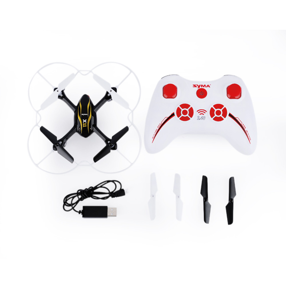 Syma X11 4ch 24ghz Mini Quadcopter Without Camera Hd Micro Drone Rc X8c Venture With 2 Mp Full White Pocket Quadrocopter Aircraft Helicopter Kids Toys Dron
