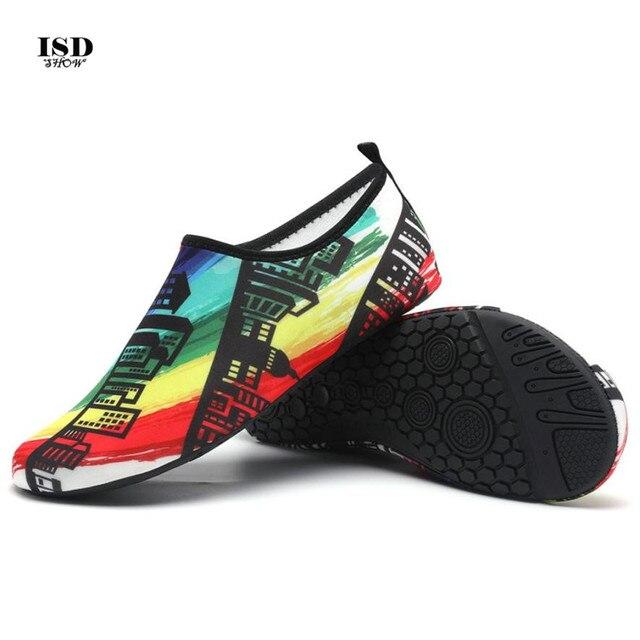 170461708cac KLV 2018 Men Outdoor Sneaker Shoes for swimming pool shoes women fishing  aqua water shoes diving wading barefoot beach shoes 45